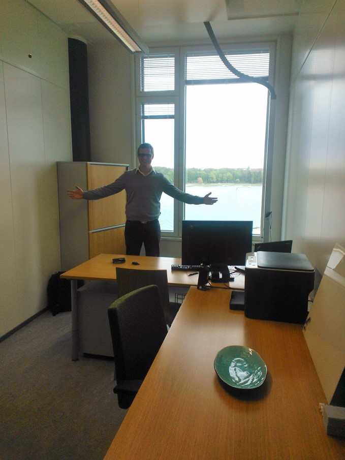 Zure's first office