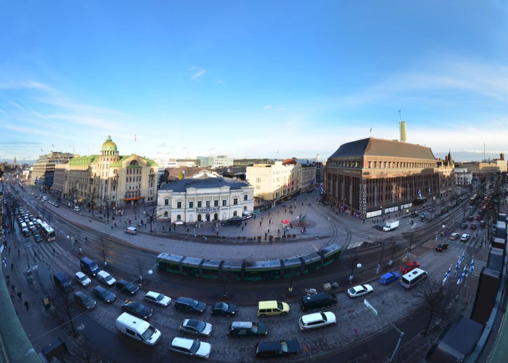 Zure Mannerheimintie view 2013