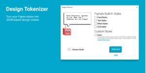 design token plugin called design tokenizer