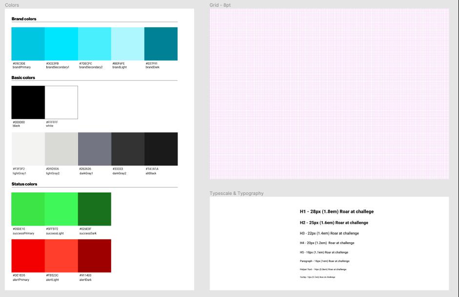 Design assets in Figma