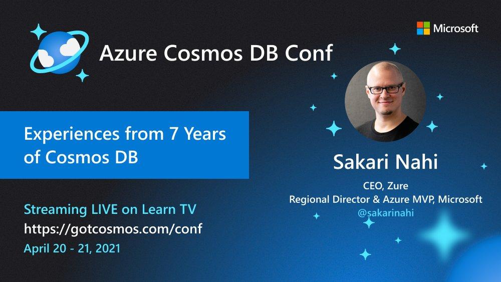 sakari cosmos db conf 2021